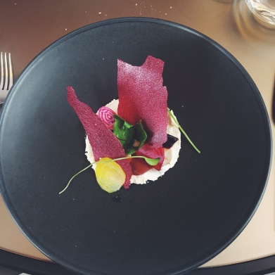 beetroot and ricotta salad