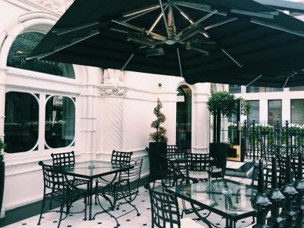 terrace, osteria 60, kensington