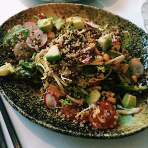 Asia de Cuba quinoa salad