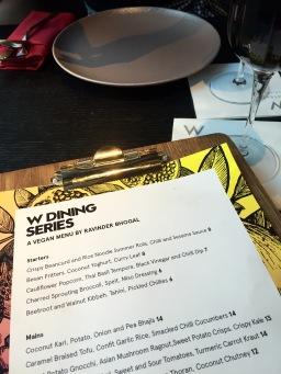 W dining series