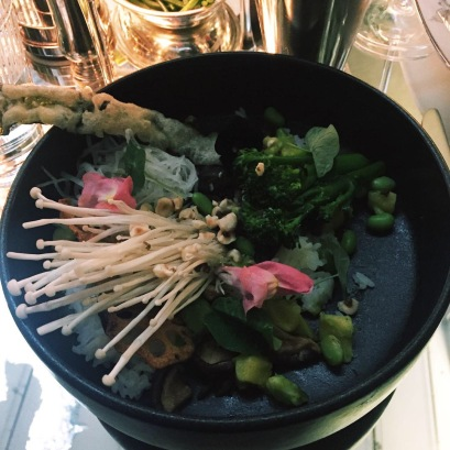 Wild Mushroom Rice Bowl